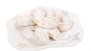Рождественские рецепты: Ванильные рогалики (Vanilkové rohlíčky)
