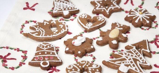 Рецепт рождественских имбирных пряников