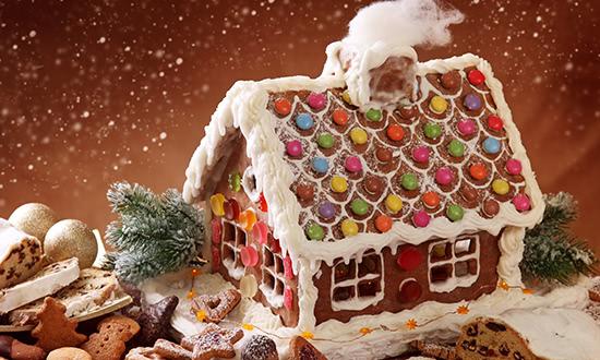 Рождественский рецепт: пряничный домик Perníková chaloupka